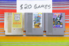 Original Nintendo NES Games Classics Lot Authentic / Cleaned / Tested 15-25 Each