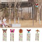 Butterfly Printed Long Tail Kite Outdoor Kite Toy With Line Hot Handle O6o4