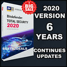 BITDEFENDER TOTAL SECURITY -  6 YEARS ACTIVATION - DOWNLOAD - DAILY UPDATES