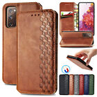For Samsung Galaxy S20 Fe 4g/5g Leather Flip Card Wallet Stand Phone Case Cover