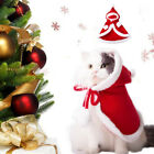 Funny Dog Cat Costume Christmas Cloak Disguise Clothes For Cats New Year Suit v