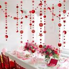 Merry Christmas Tree Decorations Home 4M Twinkle Star Paper Garland Ornaments