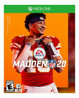 Madden NFL 20 - Standard Edition (Microsoft Xbox One, 2019) Opened, never played