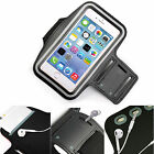 Black Sports Armband Phone Case Cover Gym Running For Energizer Ultimate U570S
