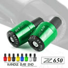 7/8 22MM Handle Bar Grips End Weights Caps Plugs Slider for KAWASAKI Z650 Z 650