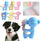 Dog Biting Ring Toy Dog Soft Rubber Molar Toy Pet Bite Cleaning Tooth Pets Toys
