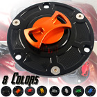 CNC Fuel Gas Tank Cap Cover Aluminum Keyless for TRIUMPH SPRINT RS ALL YEAR