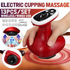 6 Gears Electric Cupping Massage Guasha Suction Heating Scraping Body Massager