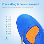 Men Women Shock Absorption Running Shoe Pad Sport Arch Support Orthotic Insoles