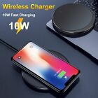 5W 7.5W 10W Desktop Round Thin Mobile Phone Fast Wireless Charger Pad Adapter Ea