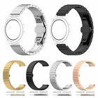 42/46MM STAINLESS STEEL WATCH BAND REPLACEMENT BUTTERFLY BUCKLE BRACELET STRAP E