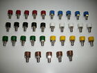 5 Plug Sockets With Insulating For 2,6 MM Plug Color of Your Choice New