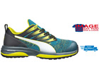 Puma Safety Charge Low Trainer 644520 Blue/Yellow