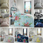 New Floral Duvet Quilt Cover Bedding Set With Pillowcases In Single Double King