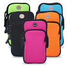 Outdoor Sports Running Jogging Exercise Gym Arm Wrist Pouch Armband Phone Bag