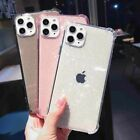 CLEAR GLITTER ARMOUR Case For iPhone 12,Pro Max,Mini,Shockproof Soft Cover