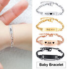 Baby Babi Anti Allergy Bracelets Customize Name Birth ID Bar Personalized Gift