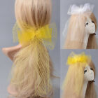 New Lady Veil Bowknot Handmade Fascinators Hair Clips Wedding Party Accessories