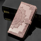 3D Embossed Mandala Pattern Leather Flip Case For Nokia 3.1 5.1 8.1 7 Plus