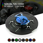 Motorcycle CNC Keyless Tank Fuel Gas Caps Cover for BMW F650GS 08-17 R1200GS