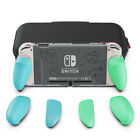 Skull  Co. GripCase Crystal Bundle: Ergonomic Grip Protective Case for SWITCH
