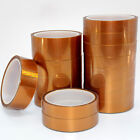 3mm-100mm Temperature Kapton Resistant Polyimide Double sided Tape 10 Metre