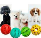 Dog Interactive Chew Resist Toys Teeth Cleaning Food Dispenser Feeder Treat Ball