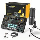 Home studio AM200-S1 All-in-on Microphone Mixer Kit Sound Card Audio Podcaster