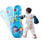 KQ Kid Inflatable Tumbler Boxing Punching Bag Gym Fitness Training Stress Relie
