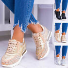 WOMENS LADIES CHUNKY TRAINERS SNEAKERS CASUAL COMFY RUNNING ATHLETIC SHOES