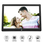 15.4in HD Electronic Digital Photo Frame Motion Detection Sensor Calendar Clock