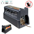 Electronic Mouse Trap Victor Control Rat Killer Pest Electric Rodent Zapper IR