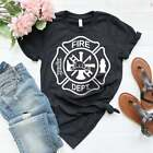 Firefighter T-Shirt, Firefighter Gift, Fireman T-Shirt, Fire Department T-Shirt