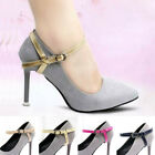Ladies PU Detachable Shoe Belt Straps Band For Holding Loose High Heels Strap