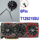87mm Everflow T129215su Dc 12v 0.50amp 4 5 6 pin  Cooling Fan For Asus GTX980Ti