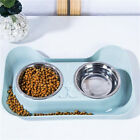 Stainless Steel Bowls Dog Cat Anti-Spill Non-Slip Pet Food Water Feeding Bowls