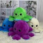 Double-Sided Octopus Plushie Happy/Sad TikTok Reversible Expression Toy