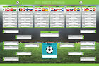 Euro 2020 (2021) Football Match Fixtures Schedule. Wallchart Planner Poster. <br/> 250gsm Premium Paper. 2 Sizes. FAST DELIVERY