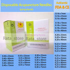 ZhongYanTaiHe Acupuncture Spring Handle Needles with guide tube 500 1000 massage