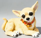 Chihuahua Urn for Pet Ashes Cremation Dog Statue Memorial Small Grave Ornament