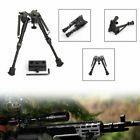 Universal Bipod 6-9 Inches Spring Metal Sling Swivel Rifle Hunting/+Adapter NZ
