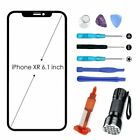 For iPhone XR Front Screen Glass Replacement Repair Tool Kit UV Glue Top Glass