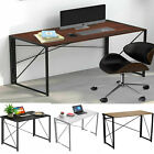 Compact Wooden Large Laptop Computer & Book Study Desk Home Office Equipment