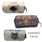 Harry Potter Pencil Case Cosmetic Bag Makeup Case Student Stationery Bag Lots