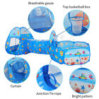 3 in1 Kids Portable Play Tent Tunnel Ball Pit Playhouse Ocean Ball Pool Tent