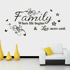 ❤ Wall Stickers Removable Funny Toilet Decal Mural Home Room Diy Decor