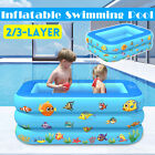 Large Swimming Pool Family Garden Kids Adults Summer Inflatable Paddling Pool