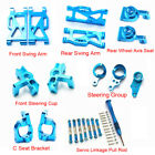 Upgrade Metal Swing Arm Wheel Axis Seat Parts For 1/14 Wltoys 144001 Rc Car