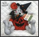 "Primitive Halloween~""BOO Mouse""~shelf sitter pattern #153"