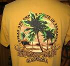 Mens Redondo Beach State of Paradise 100% Cotton TShirt